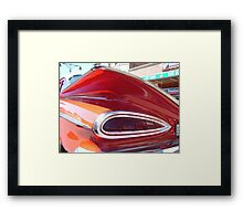Tale of a Chevy Framed Print
