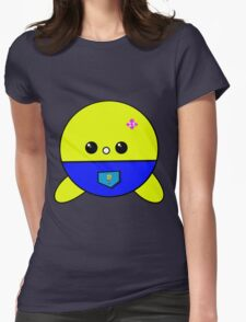 Face cute Womens Fitted T-Shirt