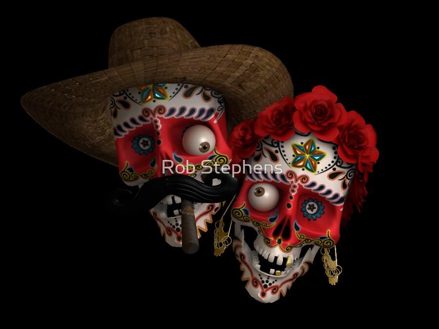 Dia de Los Muertes by Rob Stephens