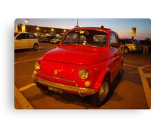 Little red thing Canvas Print