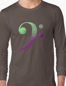 Bass Clef Long Sleeve T-Shirt