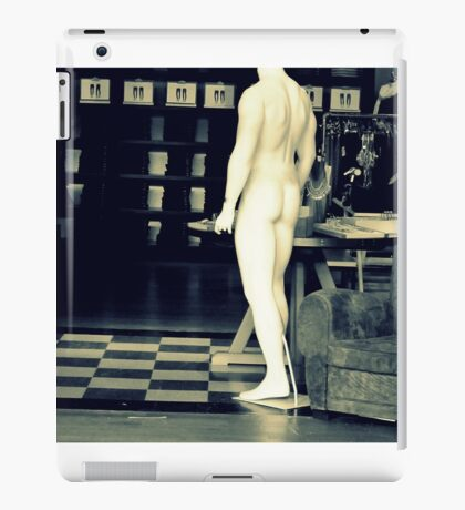 Naked mannequin iPad Case/Skin