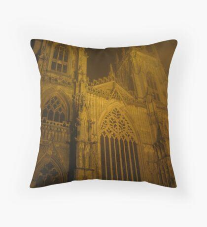York Minster by Night Throw Pillow