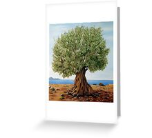 Olive Tree Greeting Card