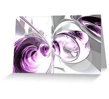 Circumvolution Abstract Greeting Card