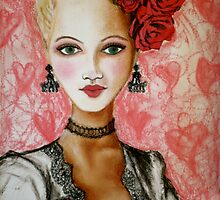 rose lady by Petra Pinn