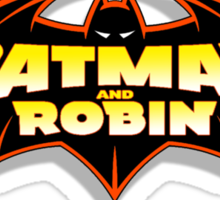Batman & Robin  Sticker