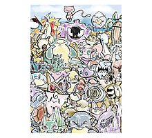 Random Encounters-Pokemon print Photographic Print