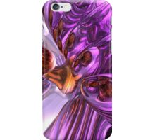 Purple Butterfly Abstract iPhone Case/Skin