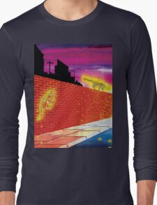 Big Cats In Suburbia Long Sleeve T-Shirt