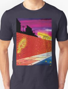 Big Cats In Suburbia Unisex T-Shirt