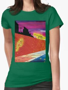 Big Cats In Suburbia Womens Fitted T-Shirt