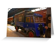 Parcel Service Greeting Card