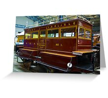 Port of Carlise Carriage Greeting Card