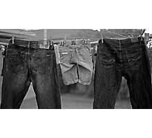 It's in our jeans Photographic Print