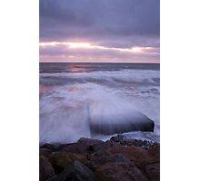 Blackwater beach at dawn, County Wexford, Ireland Photographic Print
