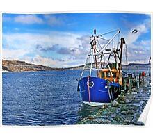 Between The Storms ~ Lyme Regis Poster