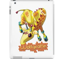 Wattgiraffe iPad Case/Skin