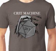 D20 Crit Machine Unisex T-Shirt