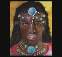 massai warrior by LJonesGalleries