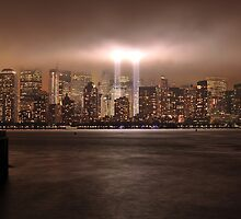 Tribute in Lights - 9/11/2009 by pmarella