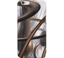 Chocolate Swirl Abstract iPhone Case/Skin