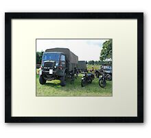Base Camp Framed Print