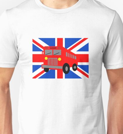 Bus in London Unisex T-Shirt