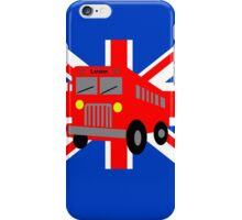 Bus in London iPhone Case/Skin