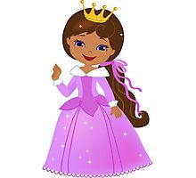 African American  Beautiful Princess Photographic Print
