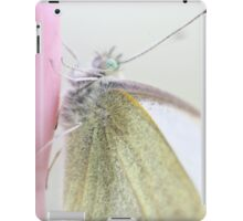 Small Cabbage White Butterfly iPad Case/Skin