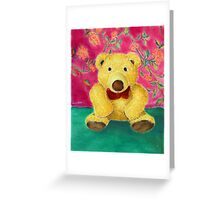 Gustav Greeting Card