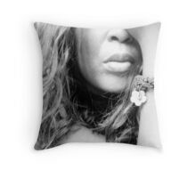 THEY CALL ME LIPS Throw Pillow