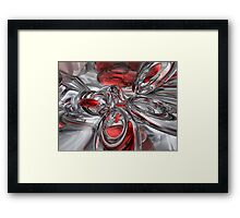 Infection Abstract Framed Print