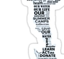 Save Our Shawnigan Water Sticker