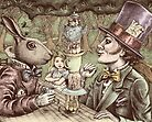 alice at the mad tea party by vian