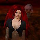 Gothic Angel by Barbara A. Boal