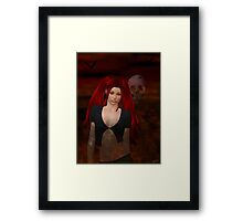 Gothic Angel Framed Print