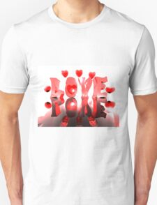 Love Reflected Unisex T-Shirt