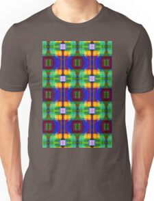 Be Happy, abstract fractal design Unisex T-Shirt