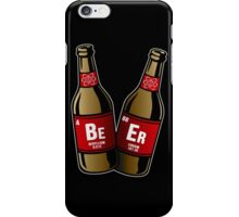 I drink beer periodically iPhone Case/Skin