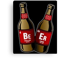 I drink beer periodically Canvas Print