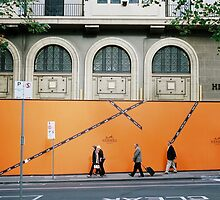 The Orange Walk by vonb