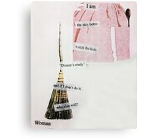 1 of We 3 Women Canvas Print
