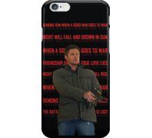 Deanmons Run iPhone Case/Skin