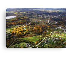 Nice living place (The Baltic states) Canvas Print