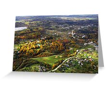 Nice living place (The Baltic states) Greeting Card