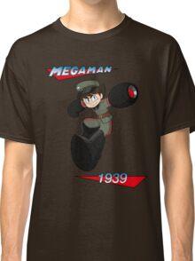 WWII style Mega Man Classic T-Shirt