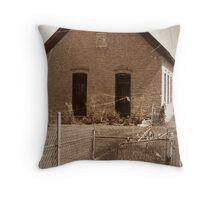 Washington School- Vernal LDS Relief Society Hall Utah Throw Pillow