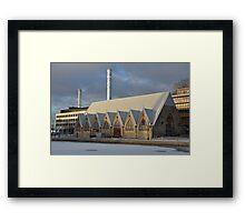 Winter in Gothenburg Framed Print